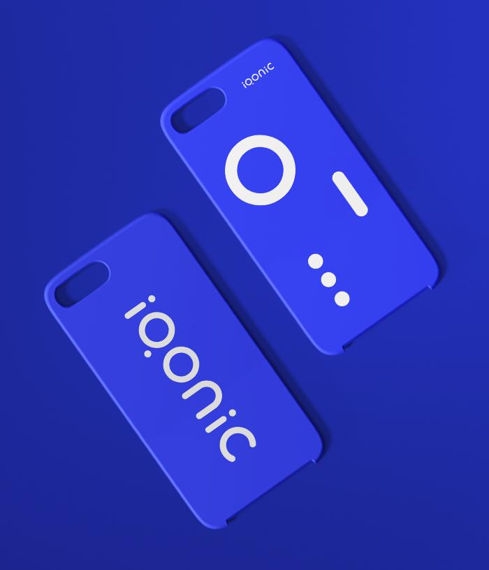 Brand identity system for Iqonic by Alevtyna Makovska 6