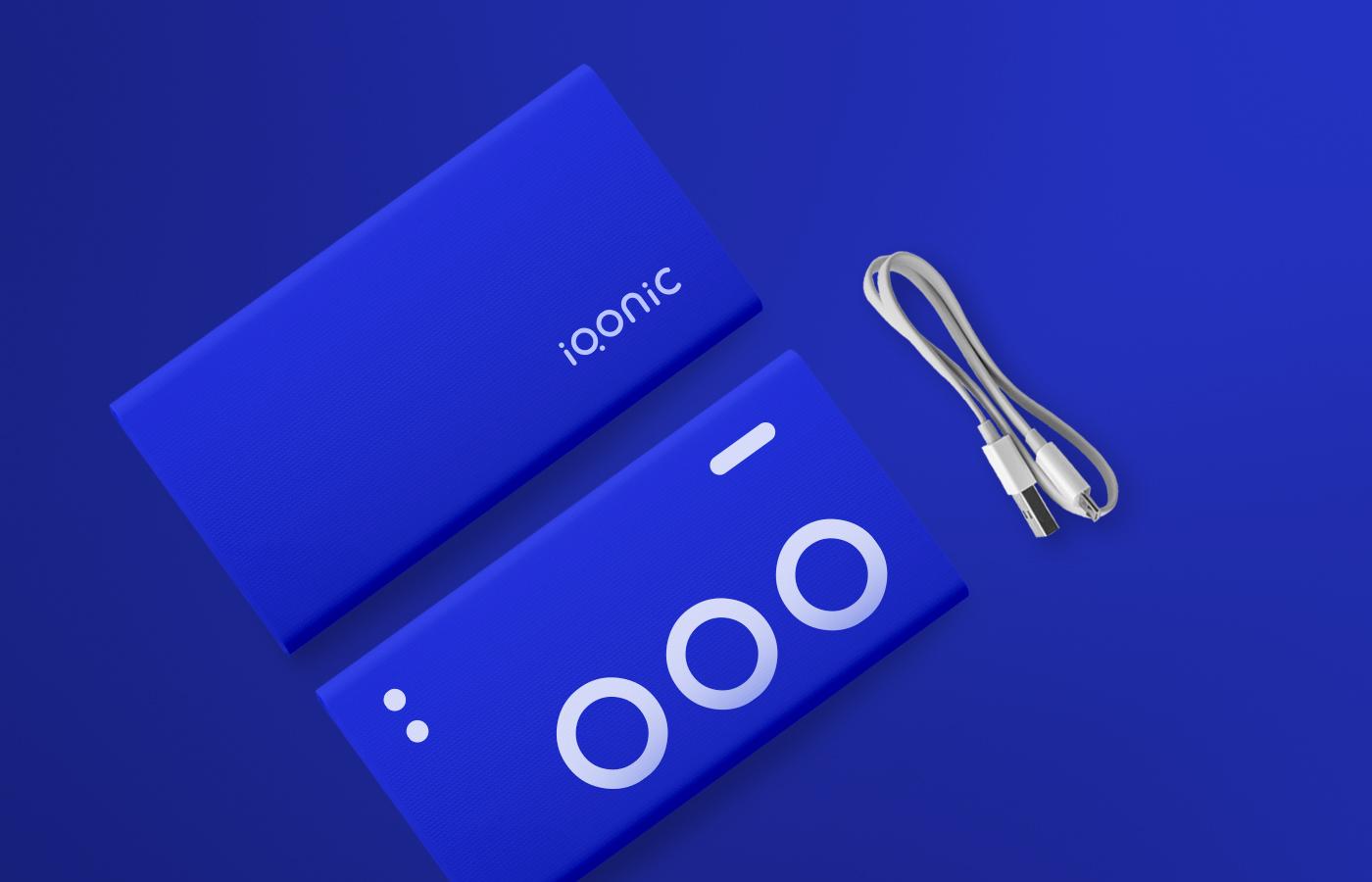 Brand identity system for Iqonic by Alevtyna Makovska 12