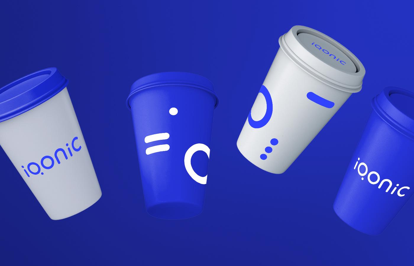 Brand identity system for Iqonic by Alevtyna Makovska 2