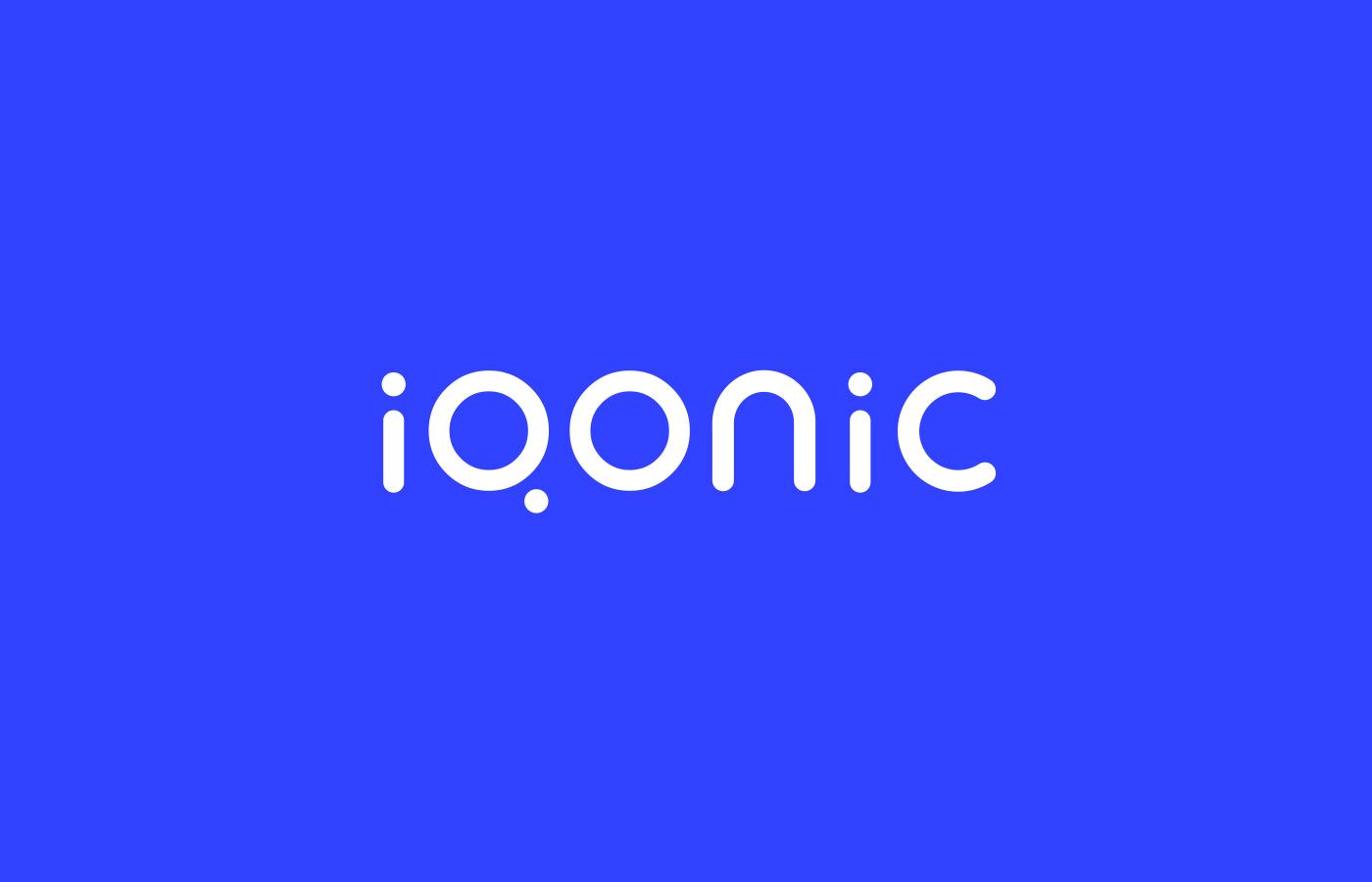 Logo design for Iqonic by Alevtyna Makovska