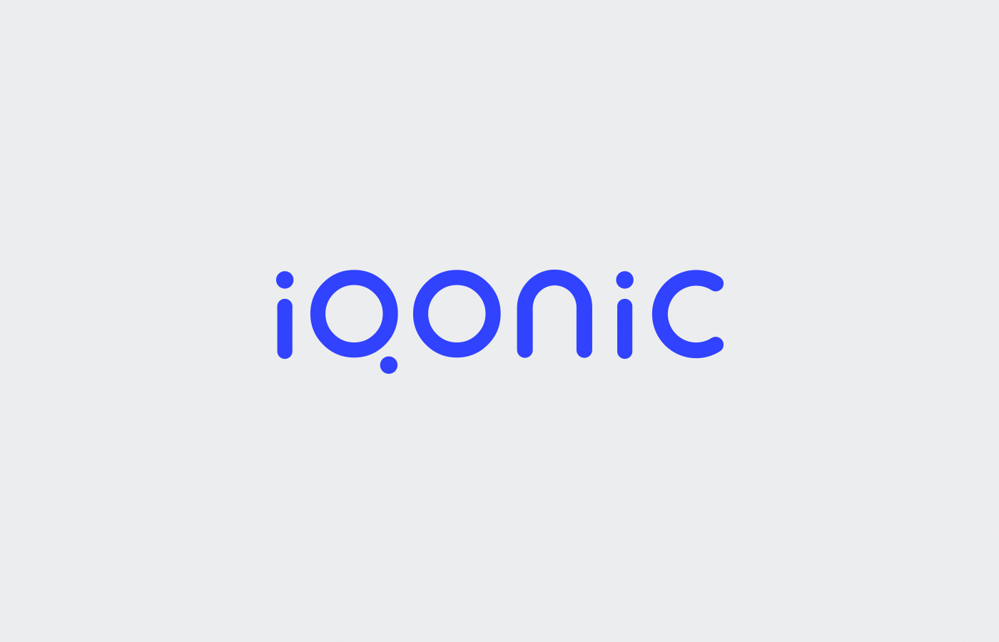 Logo design for Iqonic by Alevtyna Makovska 2