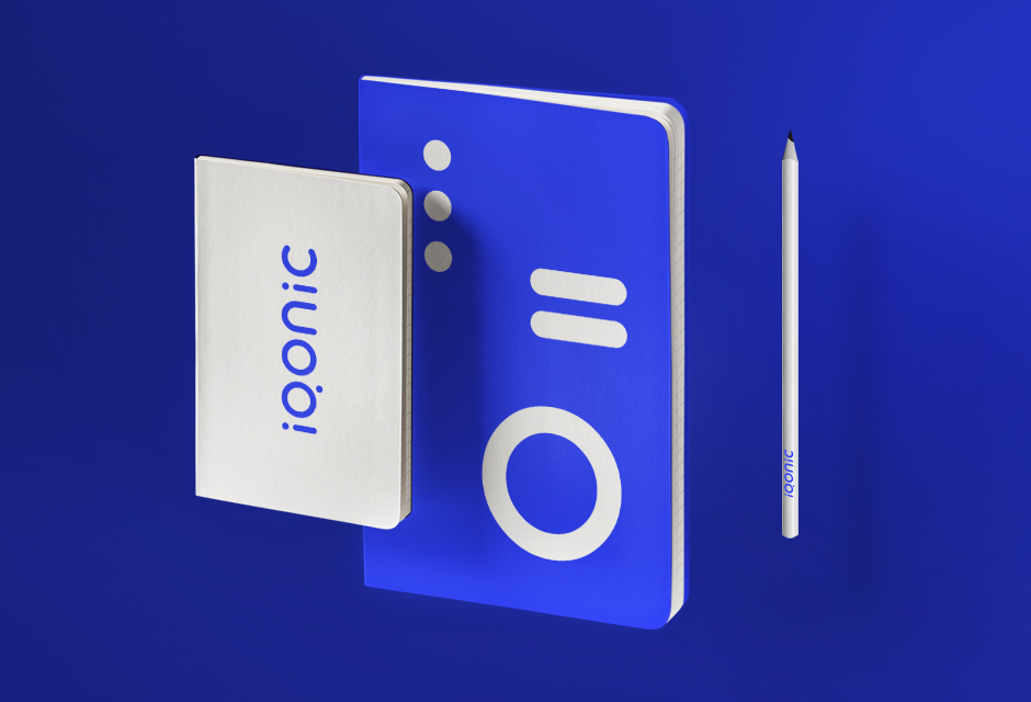 Brand identity system for Iqonic by Alevtyna Makovska 10